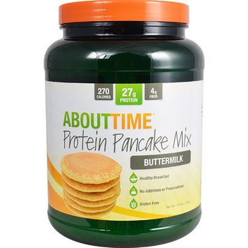 About Time Protein Pancake Mix Buttermilk -- 1.5 lbs
