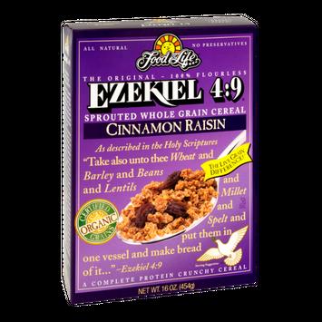 Ezekiel 4:9 Cinnamon Raisin Sprouted Whole Grain Cereal