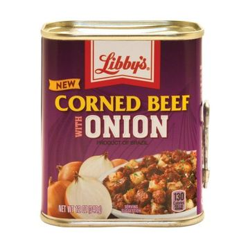 Libby's Corned Beef with Onion, 12 oz