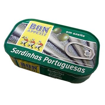 Sardines in Olive Oil (Bon Appetit) 120g