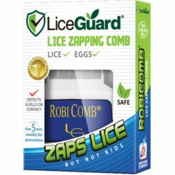 3 Pack - LiceGuard Robi Comb Electronic Head Lice Detector & Remover 1 Each