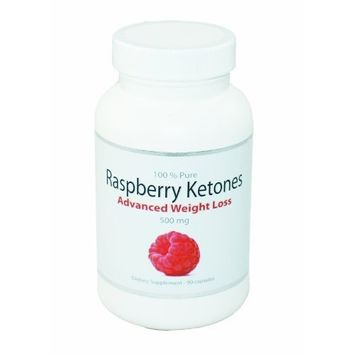 BodySuperior 100% Pure Raspberry Ketones Advanced Weight Loss Supplement 500mg   90 Capsules