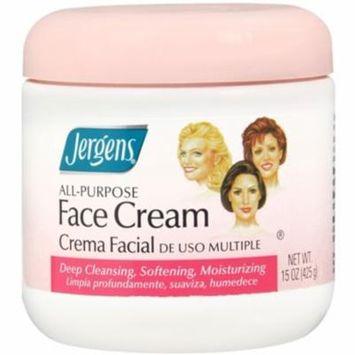 2 Pack - Jergens All-Purpose Face Cream 15 oz