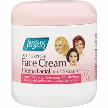 2 Pack - Jergens All-Purpose Face Cream 6 oz