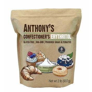 Anthony's Confectioner's Erythritol, 2lb, Non GMO, Natural Sweetener, Keto & Paleo Friendly