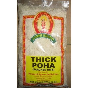 Laxmi Ready-To-Eat Flattened Thick Poha - 14oz