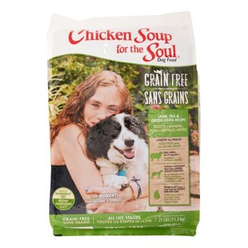 Chicken Soup Grain Free Lamb Pea and Green Lentil Limited Ingredient Diet Recipe Dry Dog Food