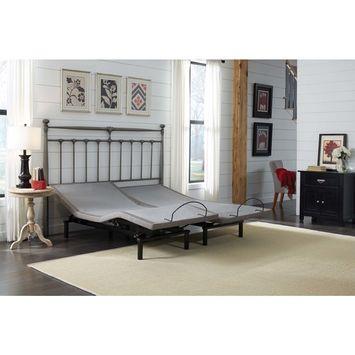 LEGGETT & PLATT PHOENIX ADJUSTABLE BED WITH WIRELESS REMOTE AND WALLHUGGER