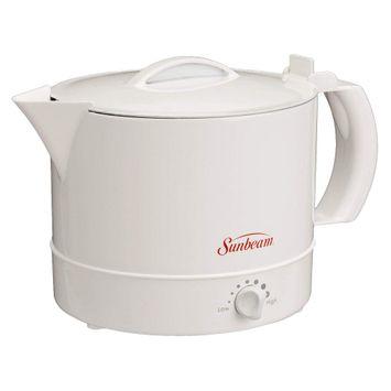 Jarden Sunbeam Hot Pot BVSBWH1001 White