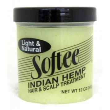 Softee Hair & Scalp Treatment - Indian Hemp 12 oz.