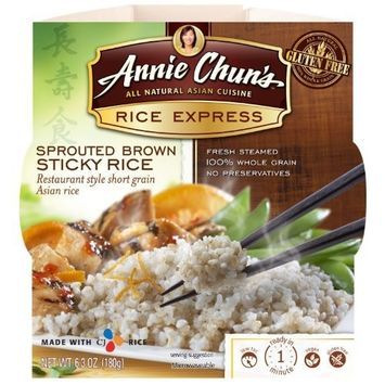 Annie Chun's Rice Express Sprouted Brown Rice (Pack of 6)