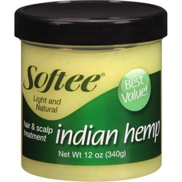 Softee Indian Hemp Light and Natural Hair & Scalp Treatment, 12 oz