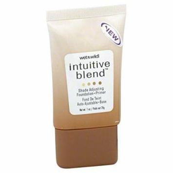 Wet n Wild Intuitive Blend Foundation + Primer, Shade Adjusting, Medium 177, 1 oz.