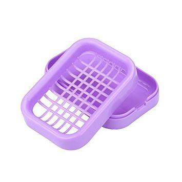 Soap Holder,Faber3 Soap Dish Shower 8 Colors Brand New Travel Plastic Soap Dish Box Case Holder (F)