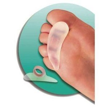 Silipos Gel Small Right Toe Crest - Pack of 3