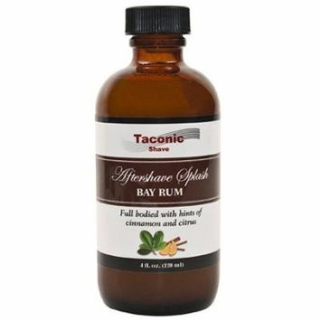 Taconic Shave Bay Rum After Shave Splash - Artisan Made in the USA