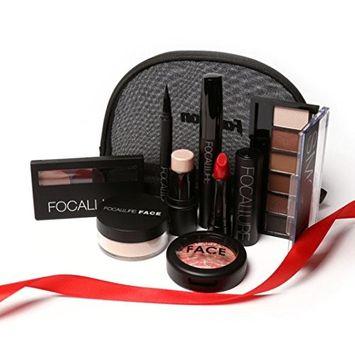 Makeup Tool Kit,Vovotrade 8PCS Cosmetics Makeup Set +Makeup Bag