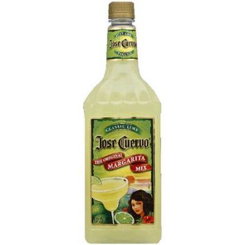 Jose Cuervo Classic Lime The Original Margarita Mix, 33.8 fl oz, (Pack of 12)