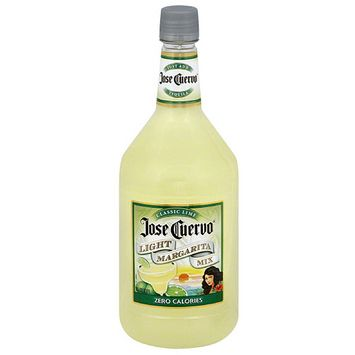 Jose Cuervo Classic Lime Light Margarita Mix, 59.2 fl oz (Pack of 6)