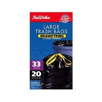 TV 20CT 33GAL Trash Bag