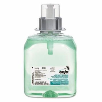 Go-Jo Industries 516303EA Luxury Foam Hair & Body Wash, 1250mL Refill, Cucumber Melon Scent