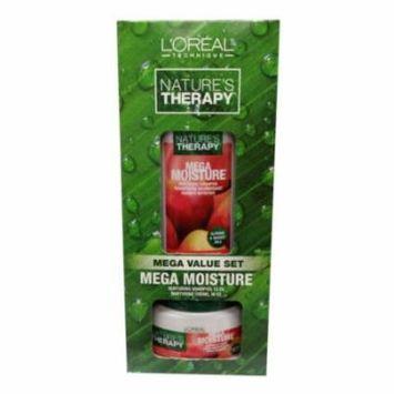 L'Oréal Paris Nature's Therapy Mega Moisture Nurturing Creme and Shampoo Mega Value Set