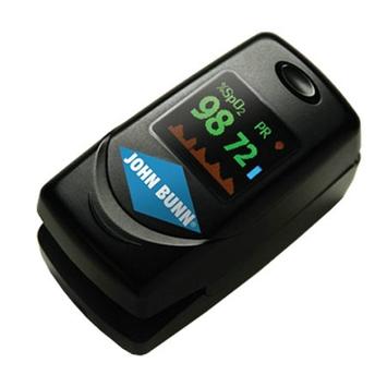 John Bunn DigiO2 Finger Pulse Oximeter w/ Multi-Directional Color LED