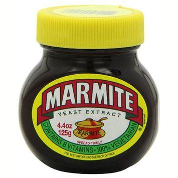 Marmite 100% Vegetarian Yeast Extract 4.4 oz Jars - Single Pack