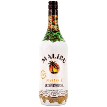 Malibu Rum Caribbean Pineapple Upside Down Cake 1L Bottle