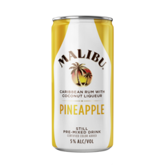 Malibu Rum Malibu Pineapple 200ml Can