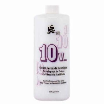 Marianna Super Star Cream Peroxide Developer 10 Volume (Size : 32 oz)