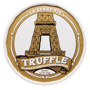 La Bonne Vie French Style Brie with Truffles, 4.4 oz