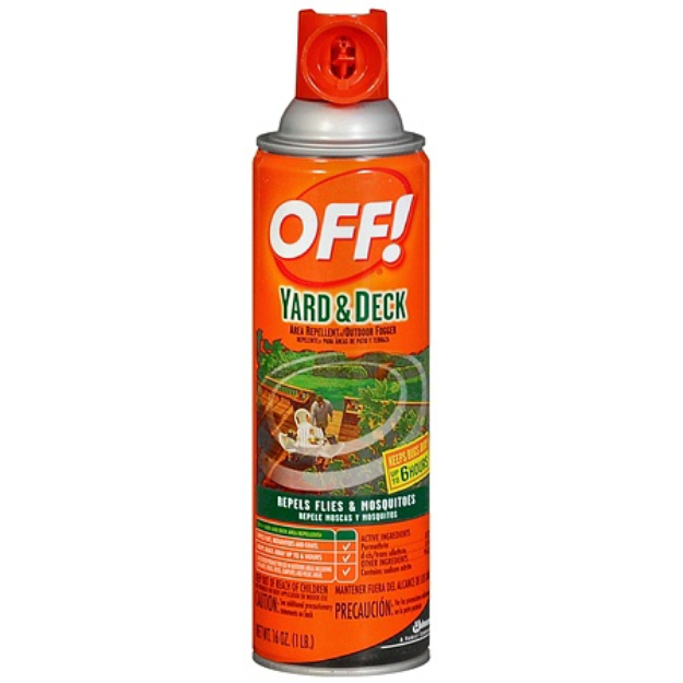 OFF! Yard & Deck Area Insect Repellent & Outdoor Fogger ...