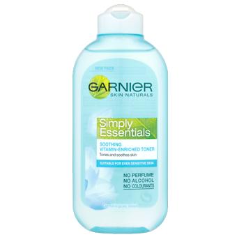 Garnier Skin Naturals Simply Essentials Soothing Vitamin-Enriched Toner