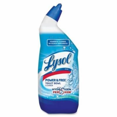 Lysol - Toilet Cleaner, 24oz., Cool Breeze, Blue/White, Sold as 1 Each, RAC 85020
