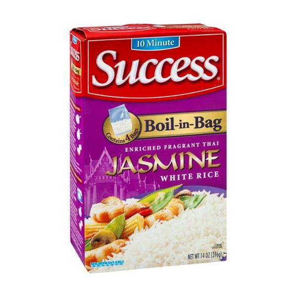 Success Boil-in-Bag White Rice Jasmine - 4 CT