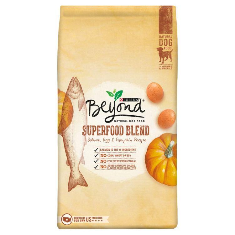 Purina Petcare Purina Beyond Superfood Blend Salmon, Egg & Pumpkin Recipe Dog Food 3.7 lb. Bag
