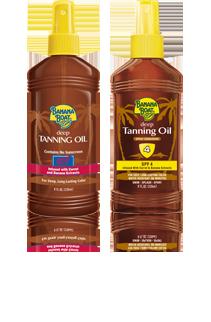 Banana Boat Deep Tanning Oils