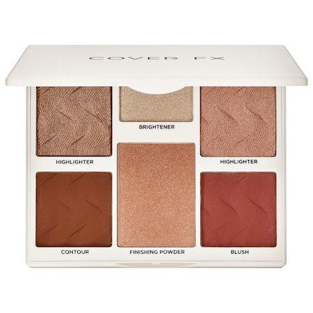 COVER FX Perfector Face Palette Medium-Deep 0.68 oz/ 19.4 g