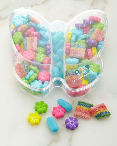 Spring Butterfly Box with Candy, Multi Colors - Dylan's Candy Bar