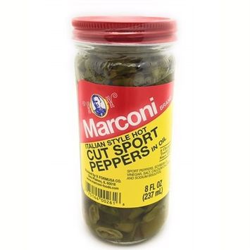 Cut Sport Peppers 8 oz., Pack of 6