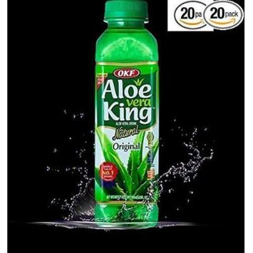 Aloe Vera King Juice Oringinal, 16.9-Ounce (Pack of 20)