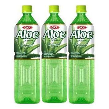 OKF Aloe Vera Original 1.5 Liter (3 Pack)