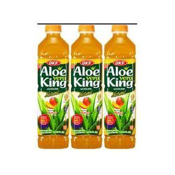 OKF Aloe Vera King Mango 1.5 Liter (Pack of 3)