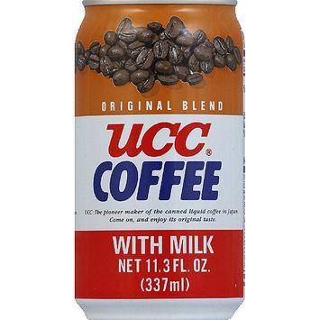 UCC Original Blend Coffee with Milk, 11.3 fl oz, (Pack of 24)