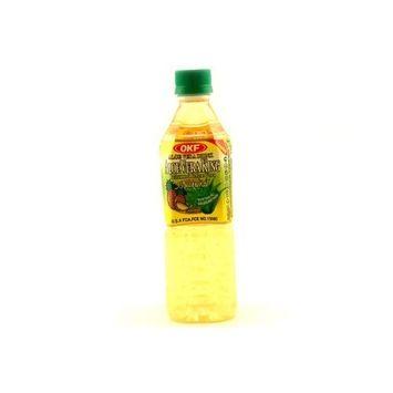OKF Aloe Vera King Juice Pineapple, 16.9-Ounce (Pack of 20)