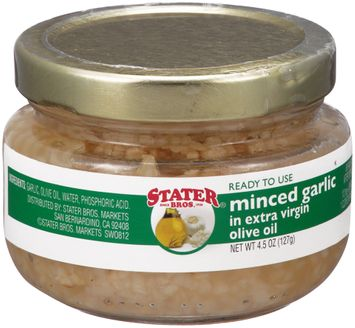 Stater bros® Minced Garlic in Extra Virgin Olive Oil