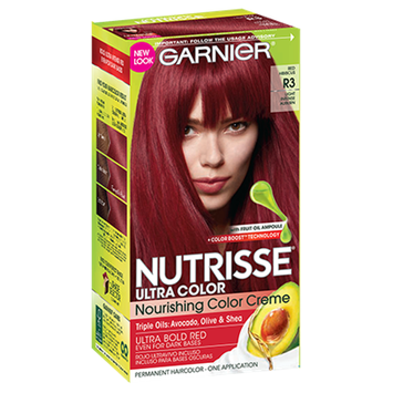 Garnier Nutrisse Ultra Color Nourishing Color Creme - R3 Light Intense Auburn