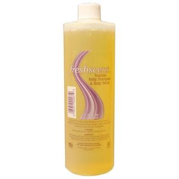 Freshscent NWI-TS16-12 Tearless Shampoo - 16 Oz Clear Bottle Case Of 12