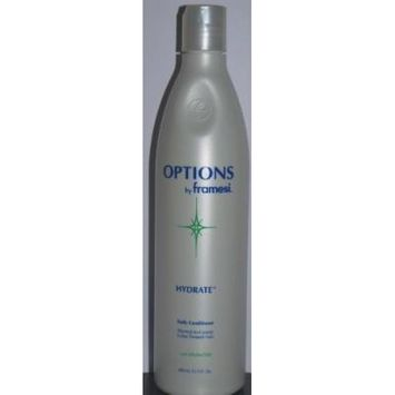 Options By Framesi Hydrate Daily Conditioner Normal to Course Color-treated Hair 13.5 Fl